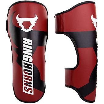 Ringhorns Charger Shin Guards Rood