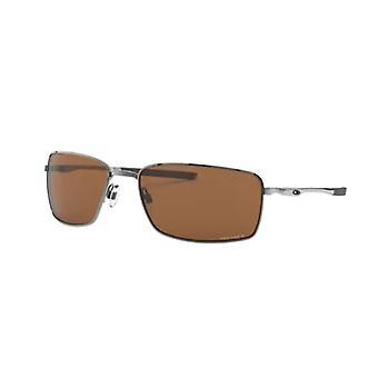 Oakley Square Wire OO4075 14 Tungsten/Prizm Tungsten Polarised Sunglasses