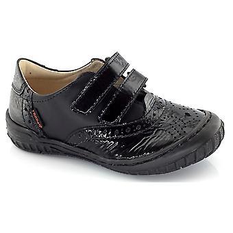 Froddo Girls G3130020-4 School Shoes Black Patent