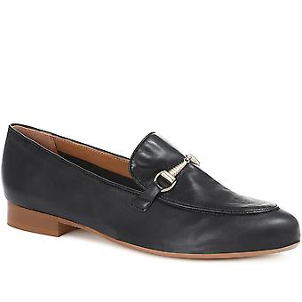 Jones Bootmaker Harriet Leather Snaffle Loafers