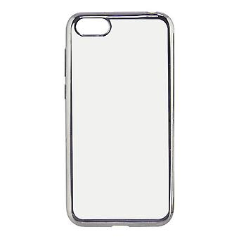 Mobiele cover Huawei Y5 2018 KSIX Flex Metal Transparant