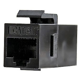 Adapter RJ45 NANOCABLE 10.21.0501 Cat.6 UTP Black