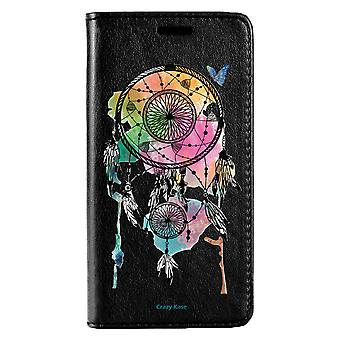 Case For Huawei P20 Lite Black Pattern Catches Dream And Butterfly