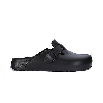 Birkenstock Boston Eva Black 127103 zapatos universales de verano para mujer