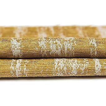 Mcalister Textilien strukturiertchen Chenille Senf gelb Vorhänge