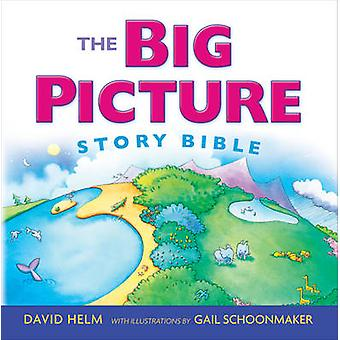 The Big Picture Story Bible by David R Helm & Illustrated by Gail Schoonmaker