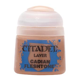 Cadian Fleshtone, Citadel Paint - Layer, Warhammer 40,000/Age of Sigmar