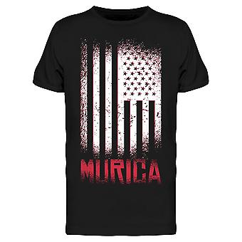 Murica American Flag Men's T-shirt