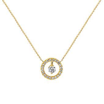 Necklace Helios 18K Gold and Diamonds - Yellow Gold