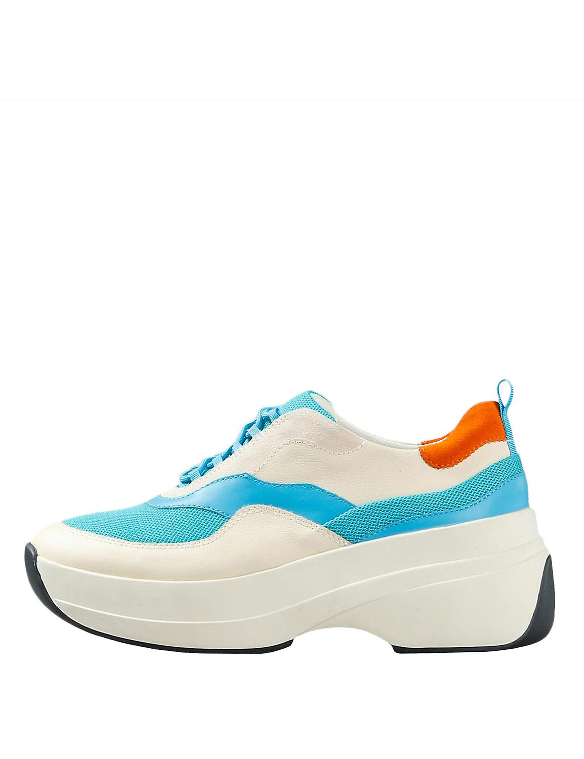 Vagabond Women's Sprint 2.0 Sneakers Leather Off White-Blue nPSpx