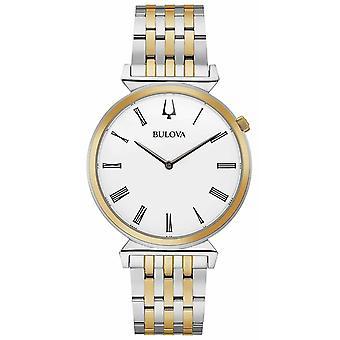 Bulova Herren | Regatta | Zwei Ton Edelstahl Armband | 98A233 Uhr