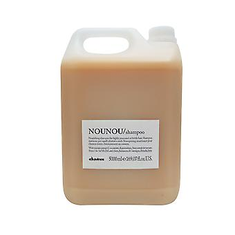 Davines Nounou Nourishing Shampoo for Highly Processed Brittle Hair, 169.07 oz.