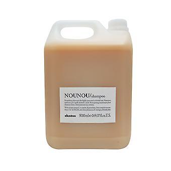 Davines Nounou ravitseva Shampoo pitkälle jalostettuja hauraille hiuksille, 169.07 oz.
