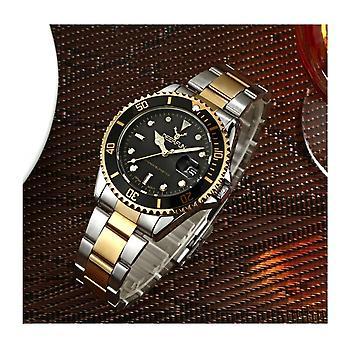 Genuine Deerfun Homage Watch Black Gold Silver Date Watches Top Submariner