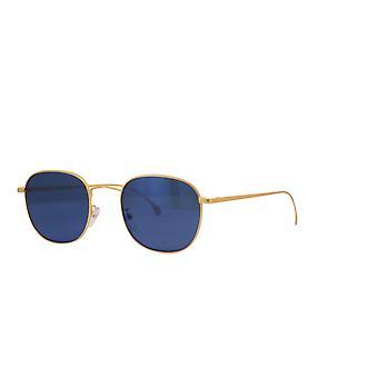 Paul Smith ARNOLD SUN PSSN008V2 04 Matte Gold/Blue Sunglasses