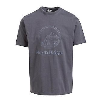 North Ridge Men-apos;s Statique T-Shirt Noir