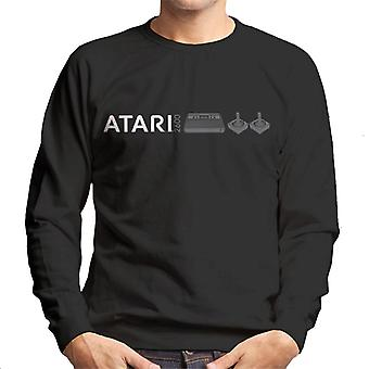 Atari 2600 Slim Logo Men's Sweatshirt
