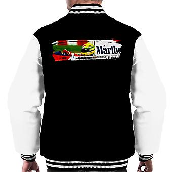 Motorsport Images Ayrton Senna McLaren MP46 Au GP de Hongrie Men-apos;s Varsity Jacket