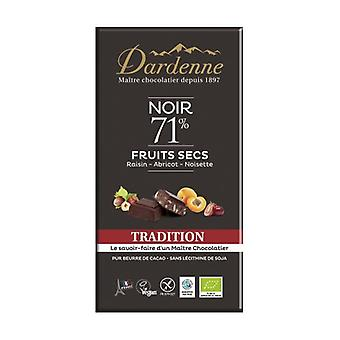 تقاليد الفواكه الداكنة الشوكولاته الداكنة بار 180 غ