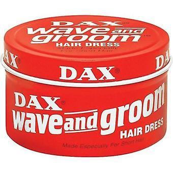 Dax wave & groom - red