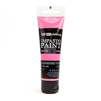 Finnabair Arte Alquimia Impasto Pintura Frambuesa Rosa