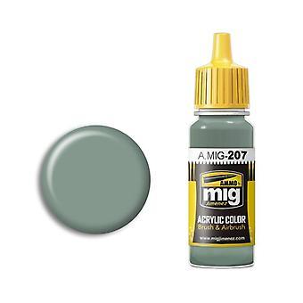Ammo by Mig Acrylic Paint - A.MIG-0207 FS 36314 (BS 626) RAF Light Grey (17ml)