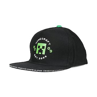 Minecraft Creeper Est 2009 Girls Baseball Cap Mercancía oficial
