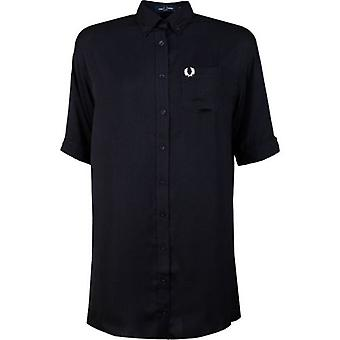 Fred Perry Authentics Oversized Shirt Dress