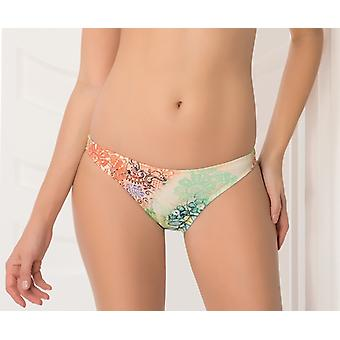Aqua Perla Naisten Ibiza Neon Kukat Bikini Bottom