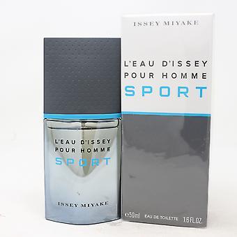 L'eau D'issey Sport av Issey Miyake Eau De Toilette 1.6oz Spray Ny med box