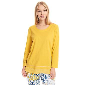 Féraud Casual Chic 3201204 Kvinnor's Bomull Pyjama Topp