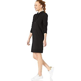 Core 10 Women's Cotton Modal Ranskan Terry Fleece Huppari Huppari Pusero, Bla...