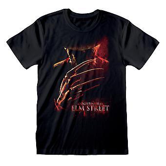 Nightmare On Elm Street Unisex Adult Poster T-Shirt