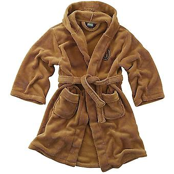 Star Wars Jedi Fleece Robe Tan Kids Large - Gaming Merchandise