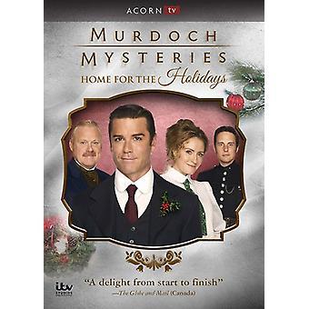 Murdoch Mysteries: Hjem for helligdager [DVD] USA import