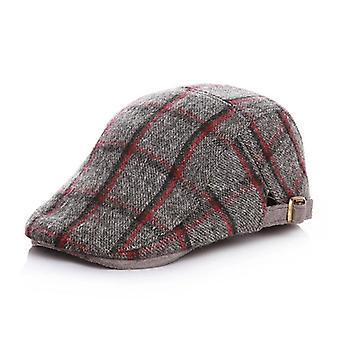 بيبي بويز كاب الاطفال قابل للتعديل القبعات قبعة الصوف شعر اللبلاب الخريف الشتاء