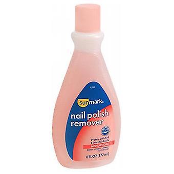 Sunmark Nail Polish Remover, Non-Acetone 6 oz