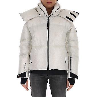Moncler Grenoble 1b5014054as5032 Women's White Nylon Down Jacket