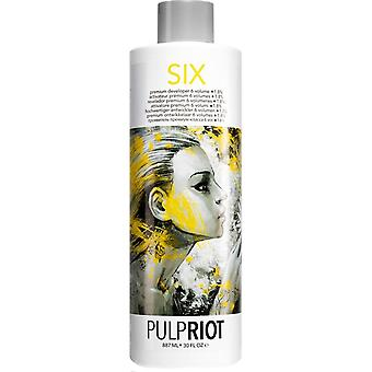 Pulp Riot Vegan Friendly & Cruelty Free Premium Scalp Developer - (6 Vol/1.8%) 887ml