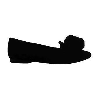 Alfani Women's Ayakkabı Poeepomp Deri Kapalı Toe Loafers