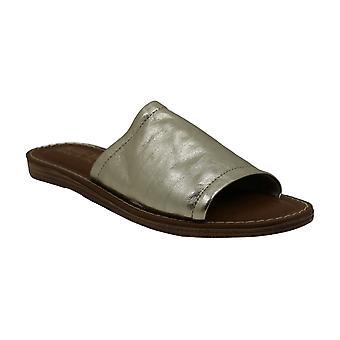 Bella Vita naisten Ros-Italia nahka avoin toe rento Slide sandaalit