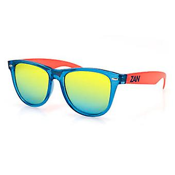 Balboa EZMT05 Mint blå & Orange solglasögon - rökt gul spegel
