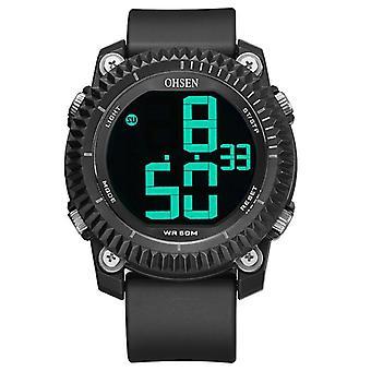 OHSEN 1710 Digitale Uhren Stoppuhr Alarm Militärische Sport Schwimmen Männer LED Uhr