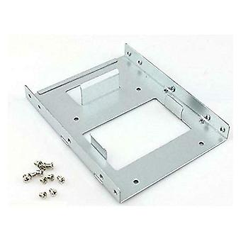 SSD to HDD Hard Drive Adapter - 2.5-inch to 3.5-inch Metal Mounting Bracket