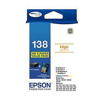 Pack Bundle Epson 138 Haute Capacité