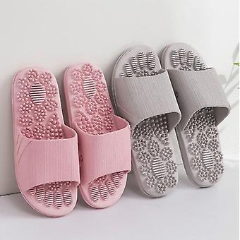 Sommar halkfria solida mjuka bottenpar tofflor sandaler