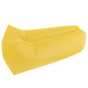 Lettino gonfiabile, divano letto ad aria, divano ideale portatile per il campeggio sulla spiaggia sul retro