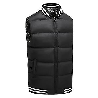 Smart Heating Vest For Men And Women Usb Rechargeable Heating Vest To Keep Warm Electric Heating Vest Sleeveless Cotton-padded Jacket