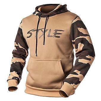 Camouflage Hoodies Men, Sweatshirt Male, Autumn, Winter Military Hoodie