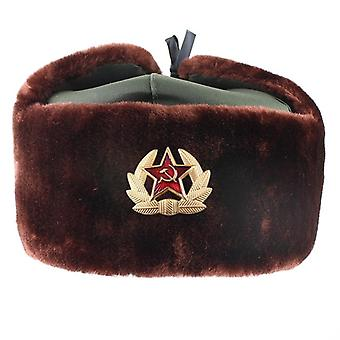 Outdoor Cold Thickened Plus Velvet Men And Women Hat